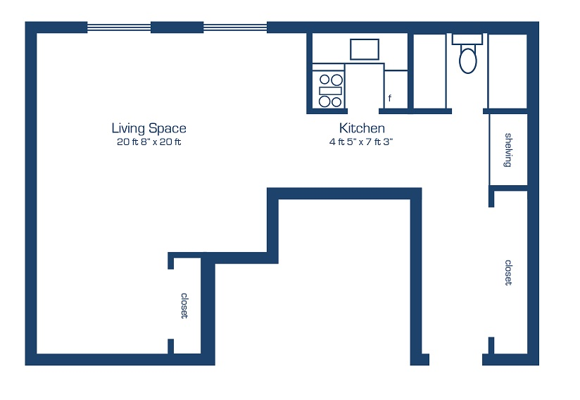 Apartments in new edinburgh east ottawa apartments rideau terrace paramount properties - Terras appartement lay outs ...